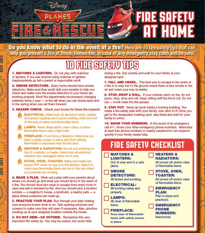 Fire Safety_at home
