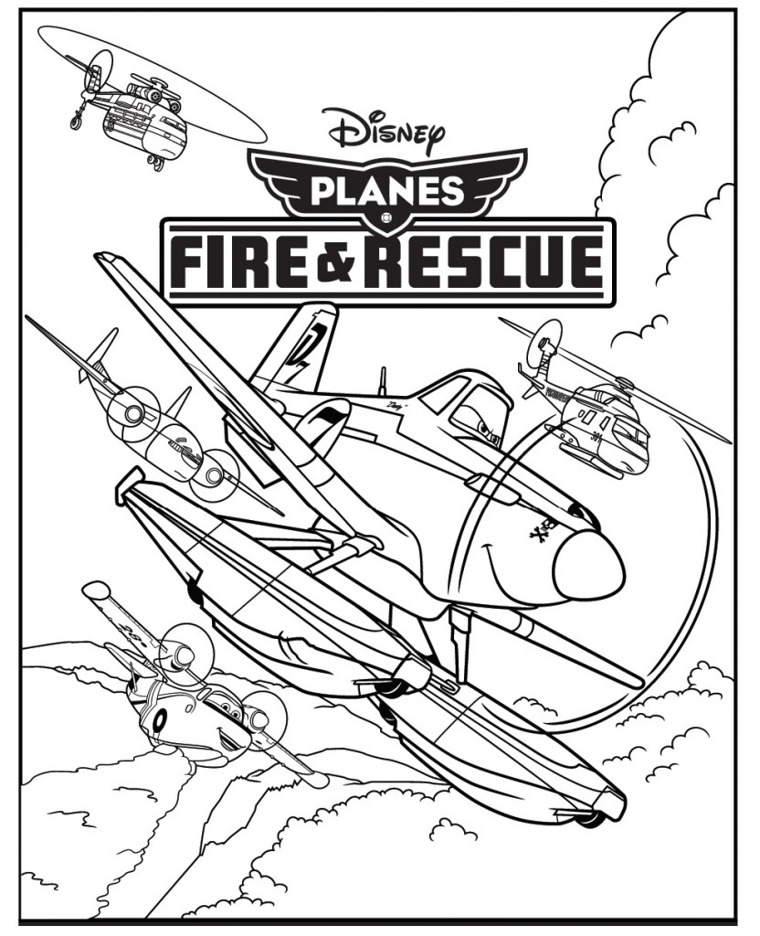 coloring pages of planes - photo#8