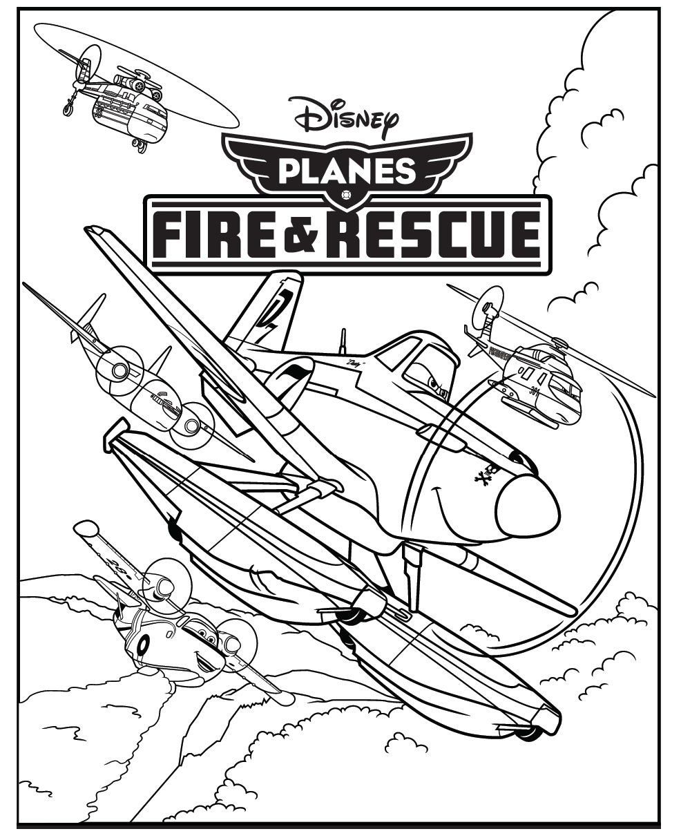 Planes 2 Activity Sheet