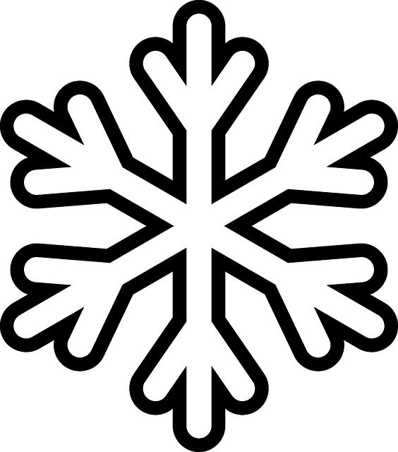 snowflake colouring sheet 3