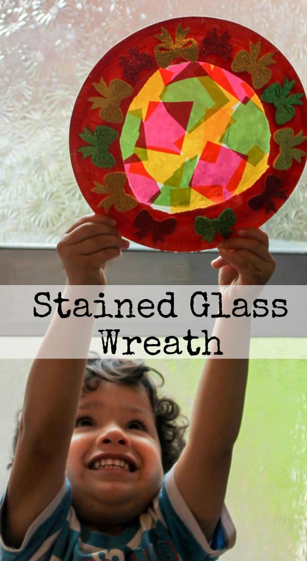 stainedglasswreath