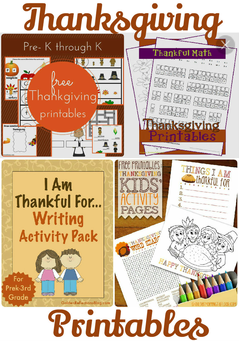 Fall and Thanksgiving Printables and Tuesday Tutorials Week 41