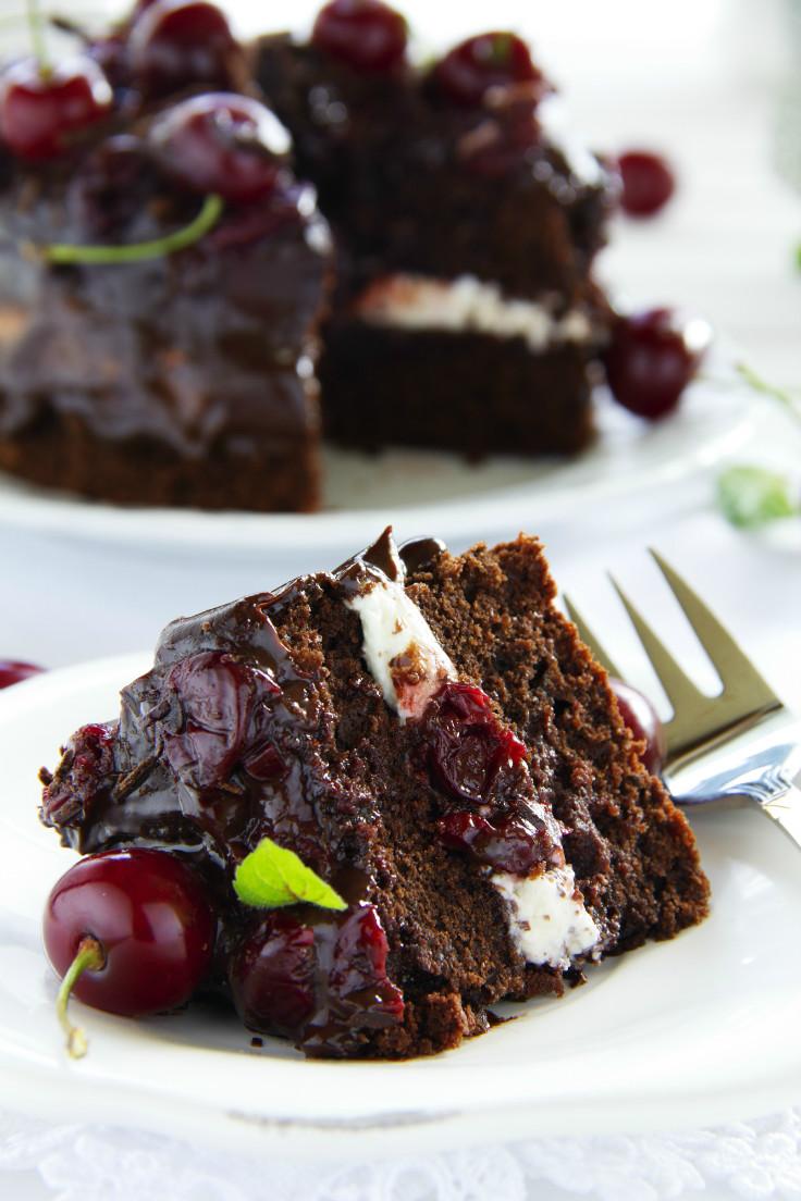 Black Coffee Chocolate Cake