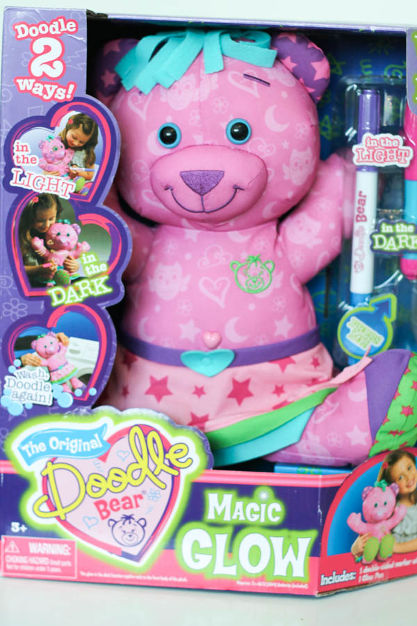 Doodle Bear Magic Glow Review In The Playroom