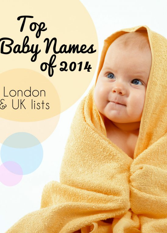London & UK Top Baby Names 2014