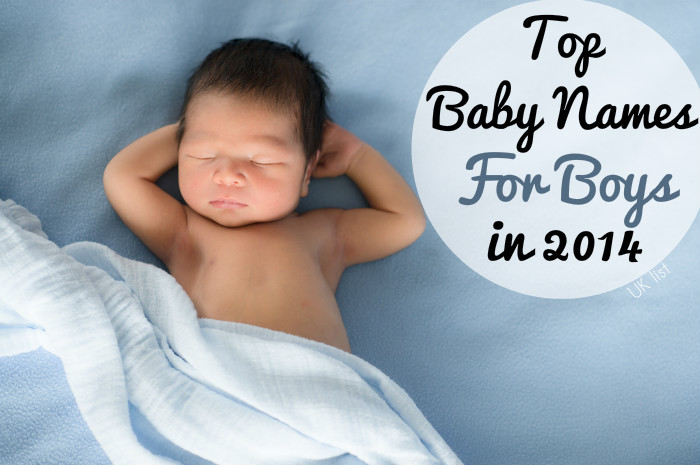 London & UK Top Baby Names 2014 - In The Playroom