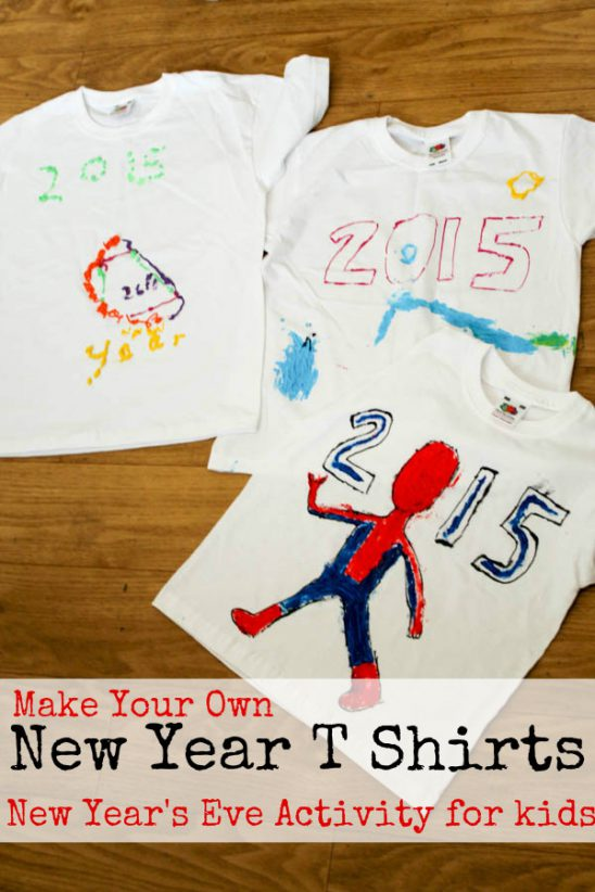 Make Your Own New Year T-Shirt