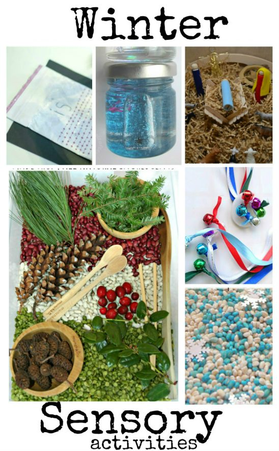 Winter Sensory Play and Tuesday Tutorials Week 47