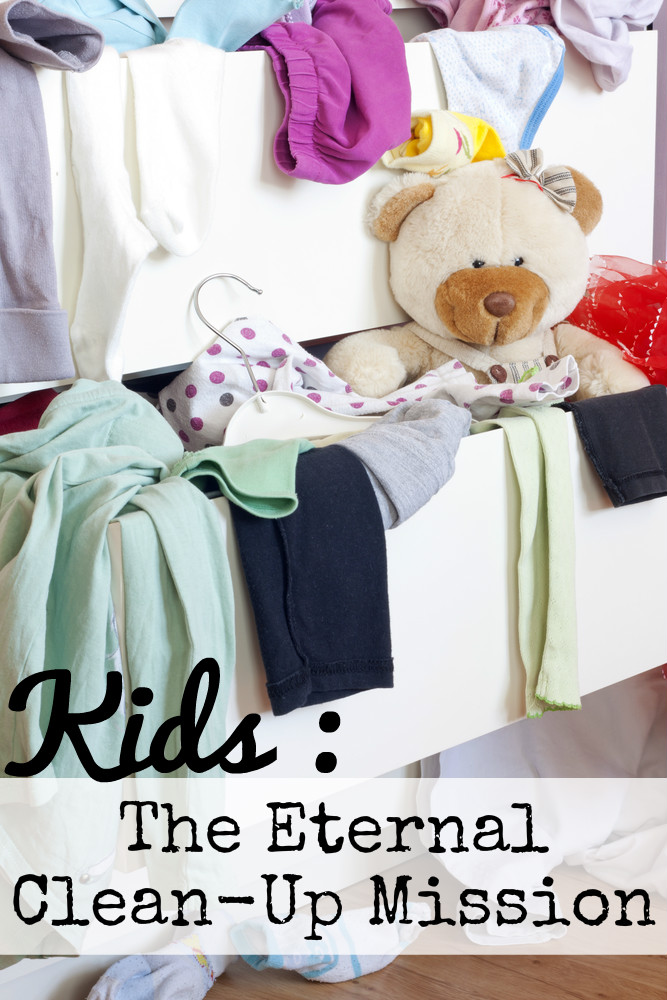 Kids – the eternal clean-up mission