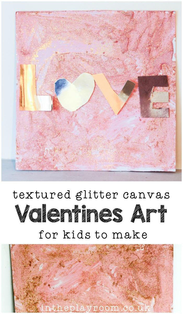 Textured-Glitter-Canvas-Valentines