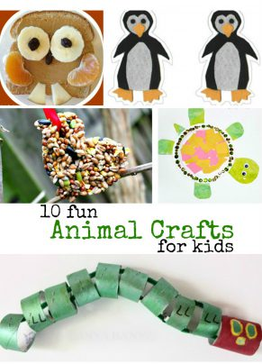 10 Fun Animal Crafts
