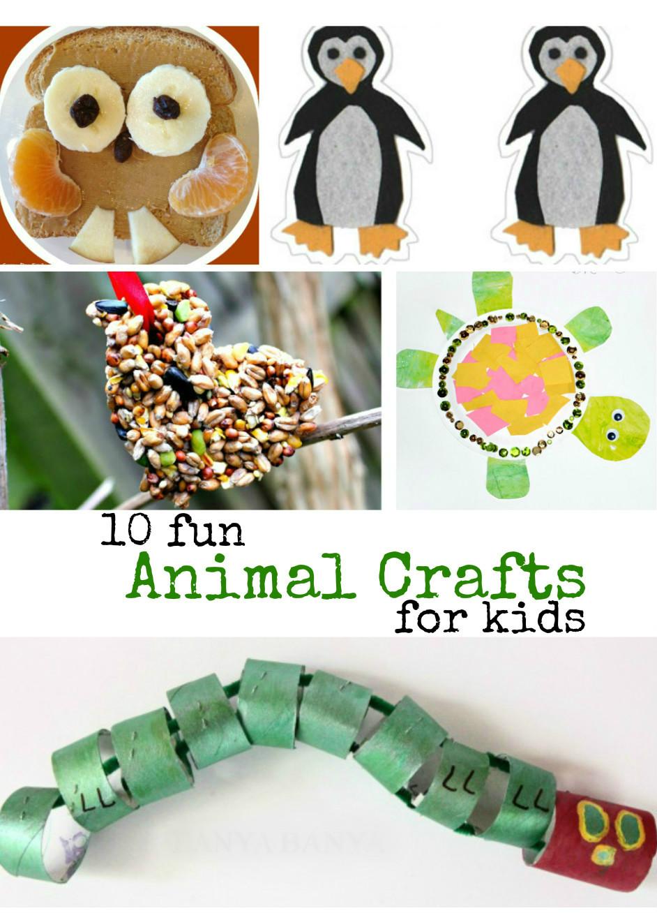 10 Fun Animal Crafts