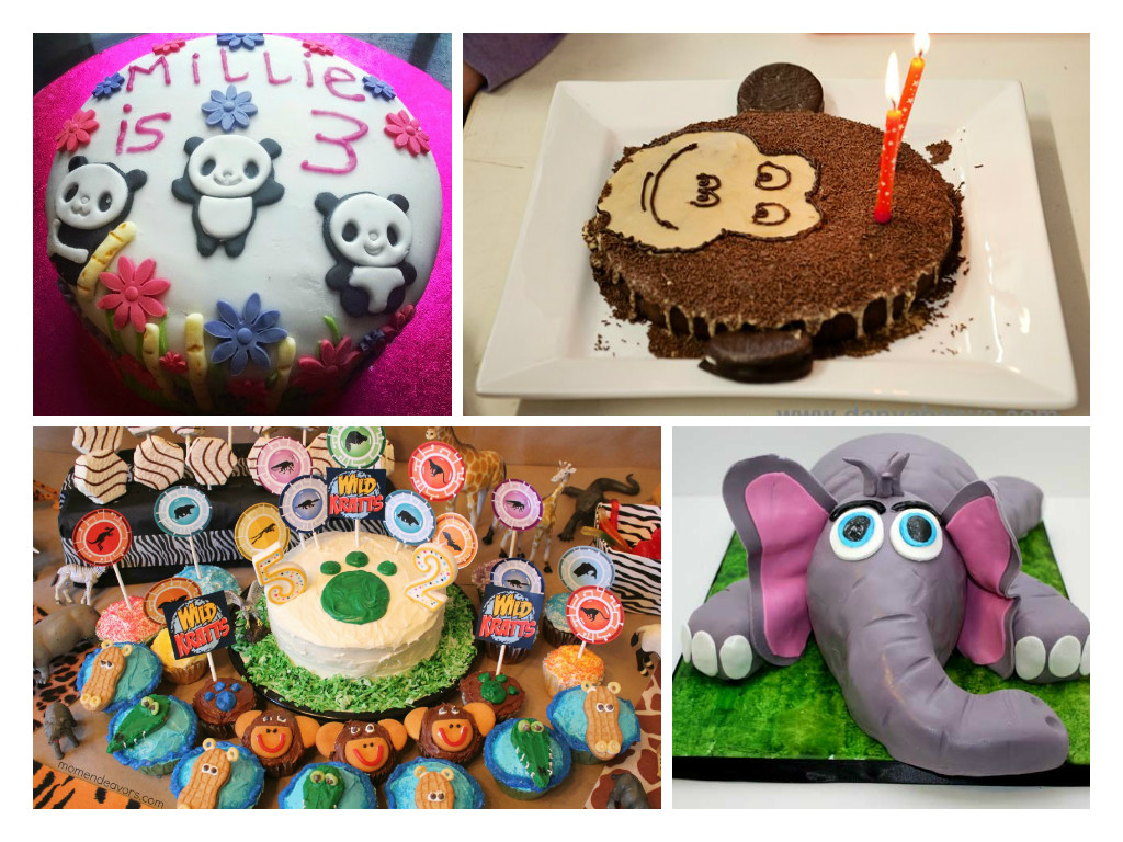 Kids Cake Decorating Ideas Animal Cakes In The Playroom