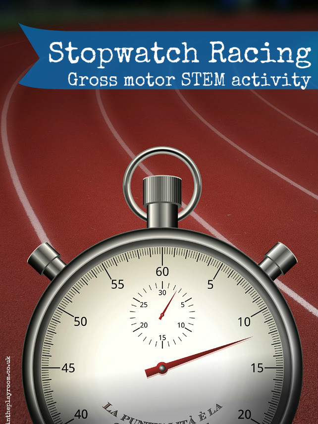 Stopwatch Racing A To Z Of Stem In The Playroom