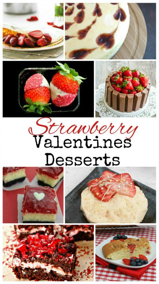 Strawberry Desserts for Valentines Day