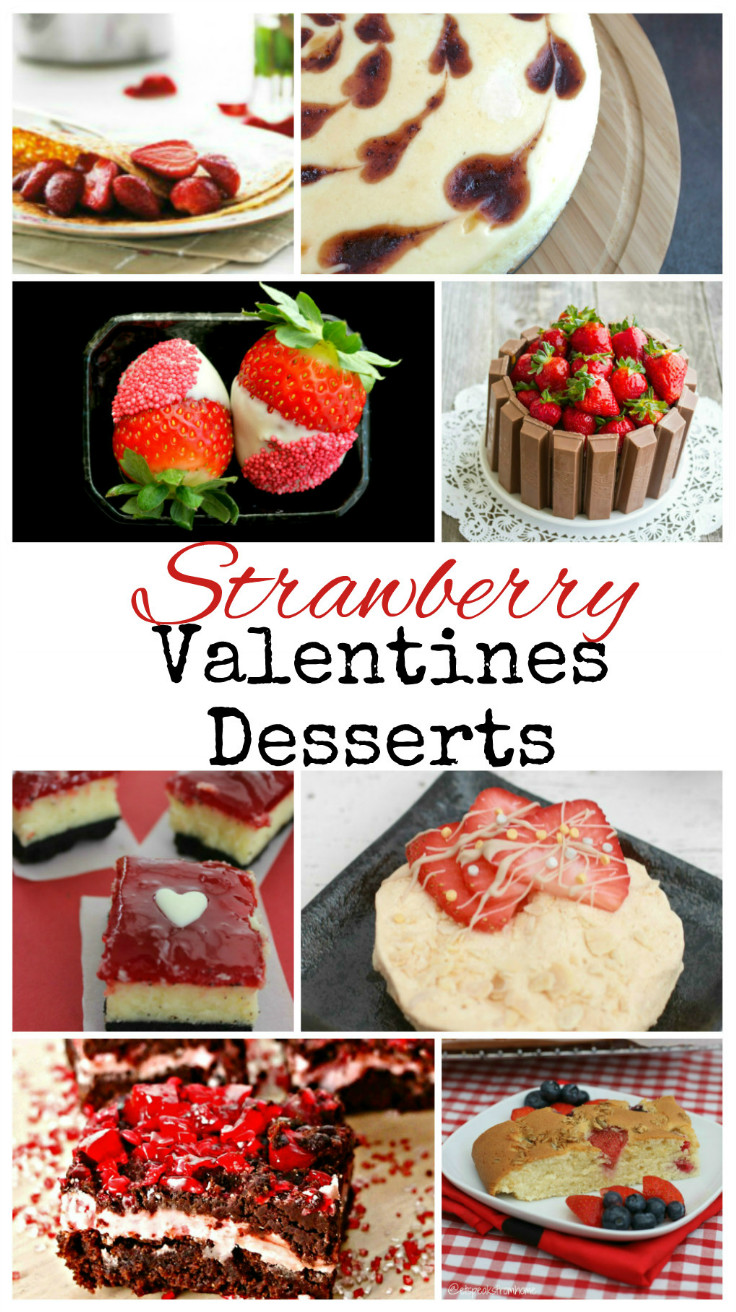 Strawberry Desserts for Valentines Day