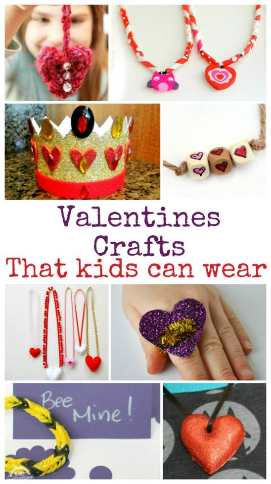 Wearable Valentines Crafts and Tuesday Tutorials