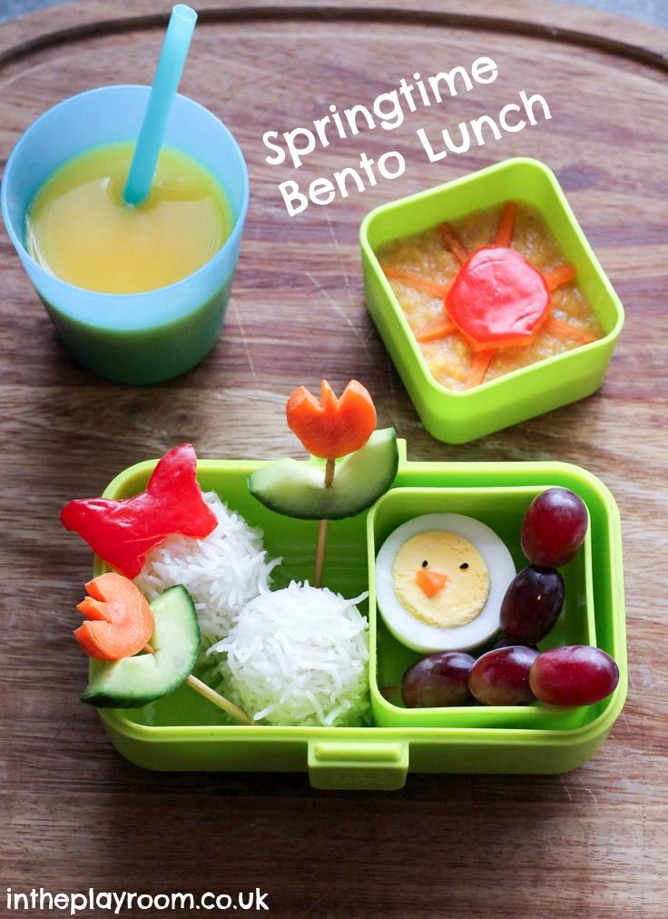 Springtime Bento Lunch