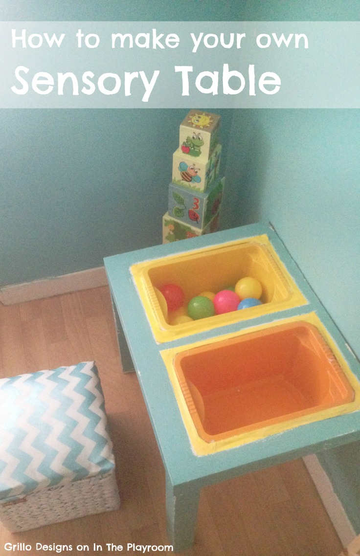 DIY Sensory Table Ikea Hack