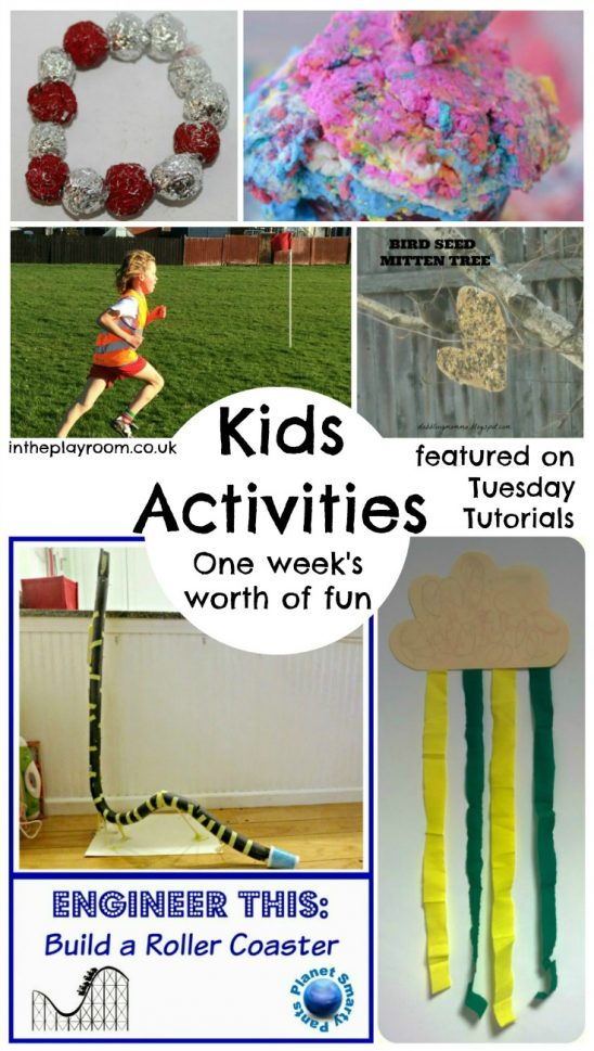 A Week's Worth of Kids Activities and Tuesday Tutorials