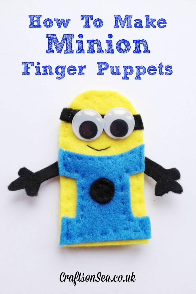 How To Make Penguin Finger Puppets In The Playroom