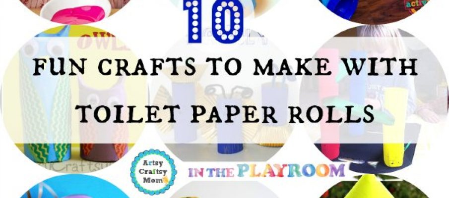 10 fun crafts to make with toilet paper rolls1