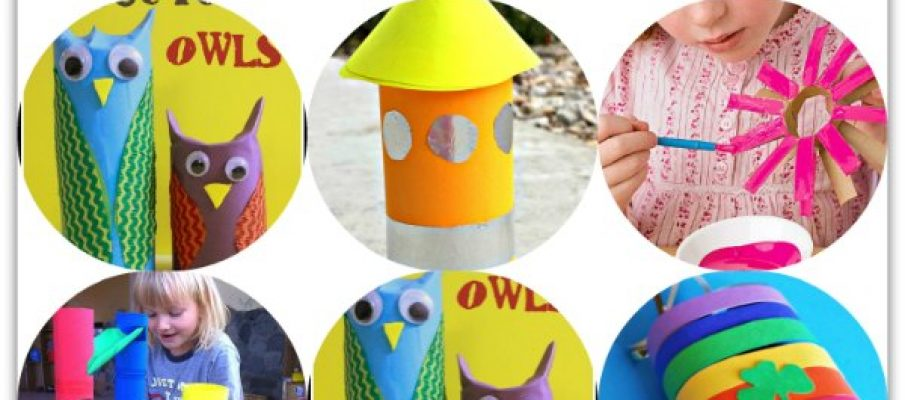 10 fun crafts to make with toilet paper rolls2