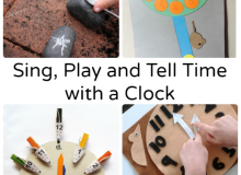 Sing, Play and Tell Time with a Clock