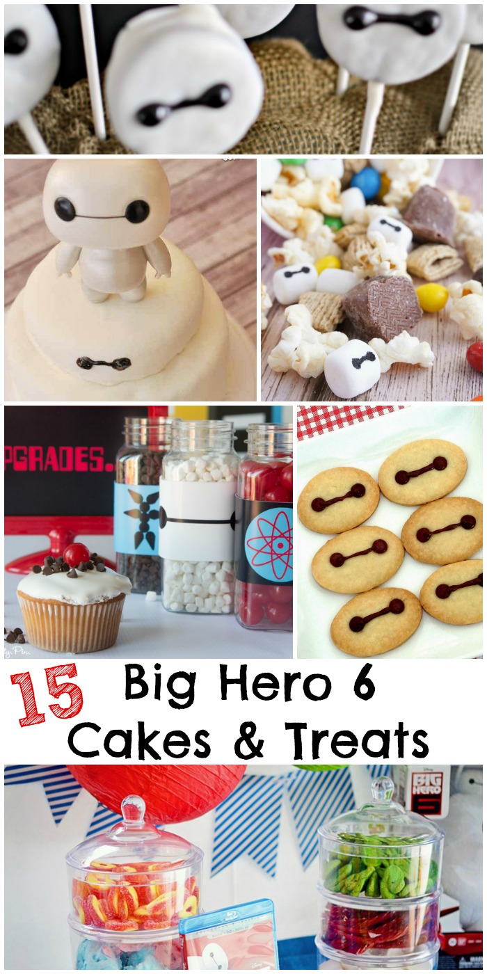 15 Big Hero 6 Cake Ideas