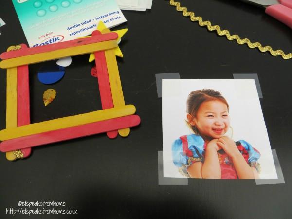 Lollipop photo frame