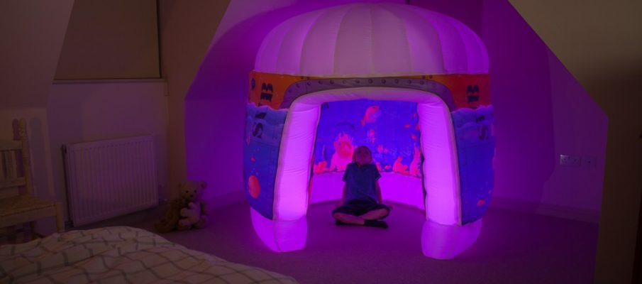 PODS Sub Aqua Bedroom Child Pink