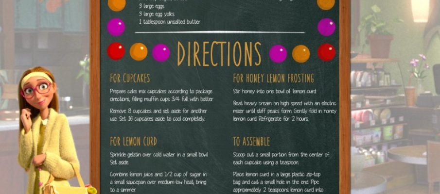 Recipes - Honey Lemon s Honeybee Cupcakes-page-001