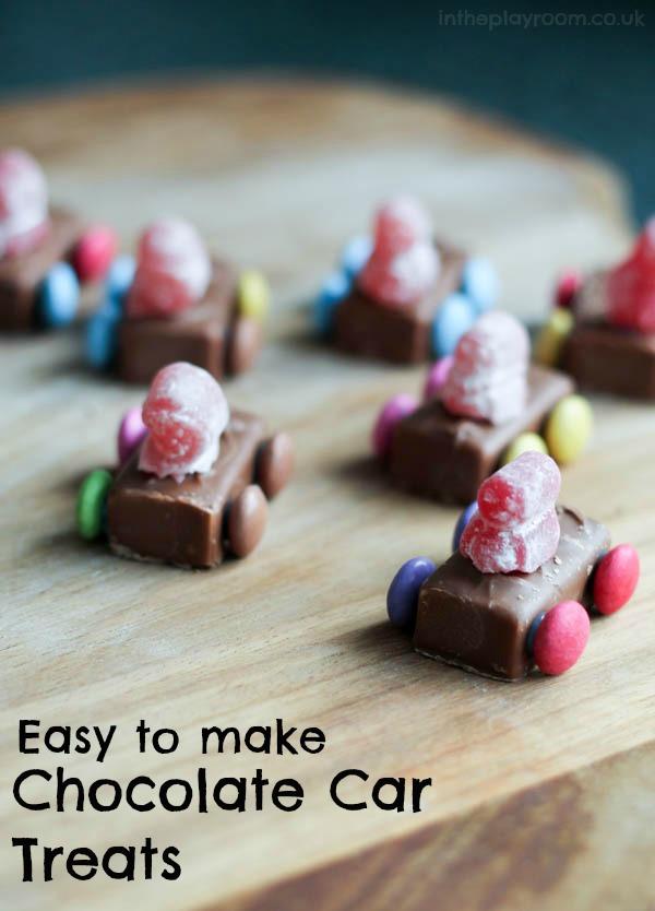 Super Easy Car Chocolate Treats