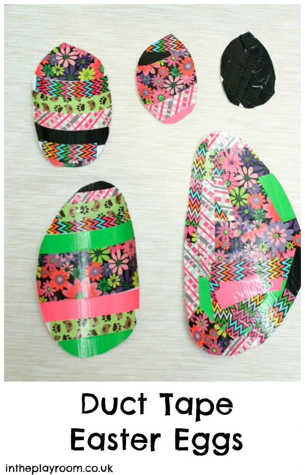 Duck Tape Easter Eggs Craft