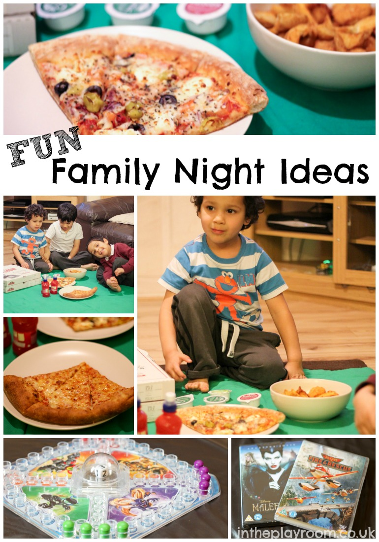 Fun Family Night Ideas With Our Papa Johns Pizza Night