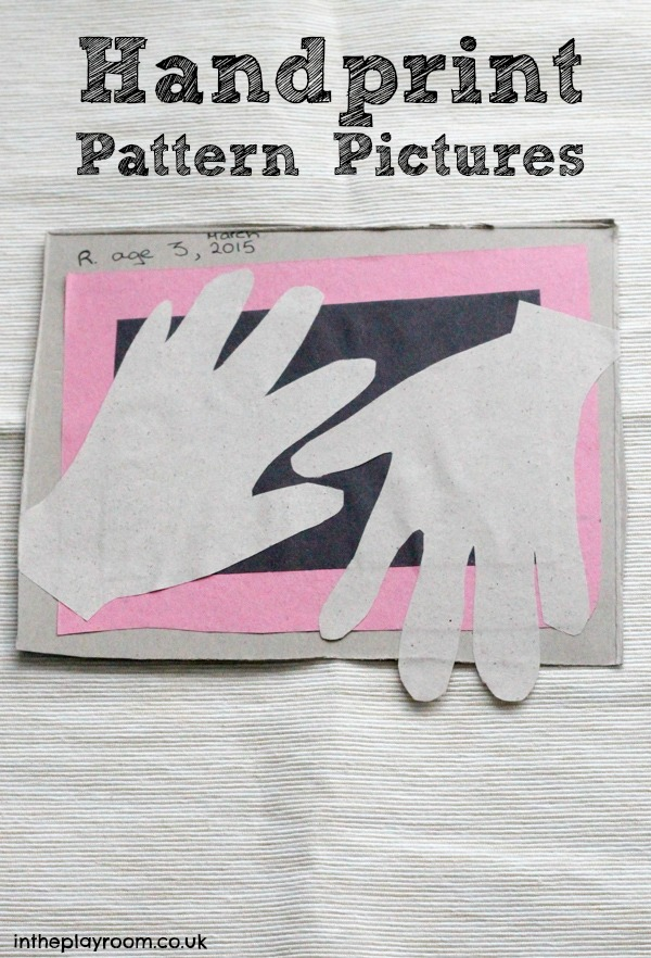 Handprint Pattern Pictures inspired by Doodle and Draw, Spots, Stripes and Squiggles