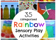 The Ultimate List of Rainbow Sensory Play