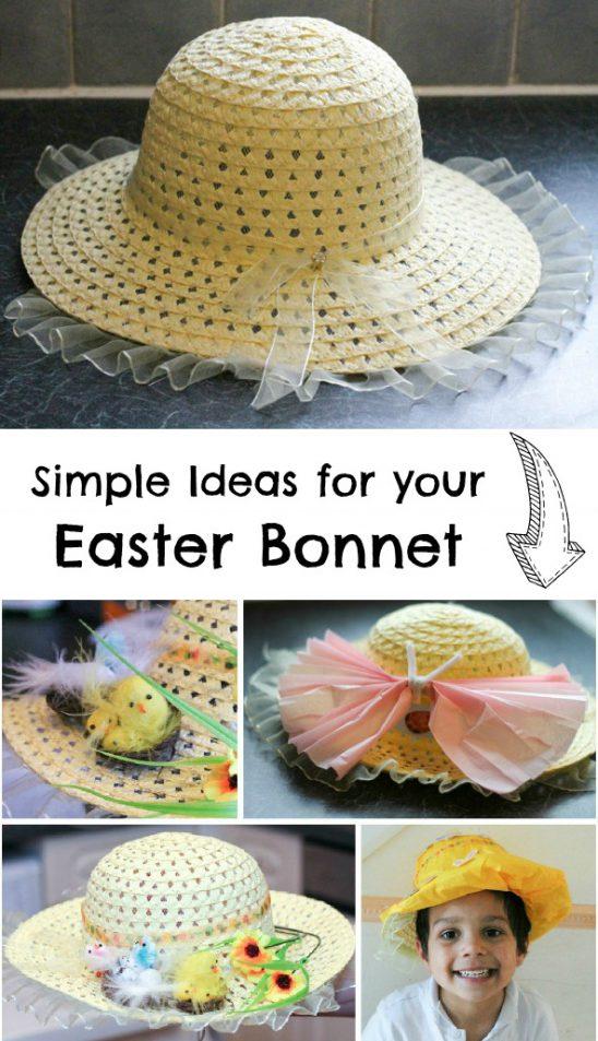 Simple Easter Bonnet Ideas