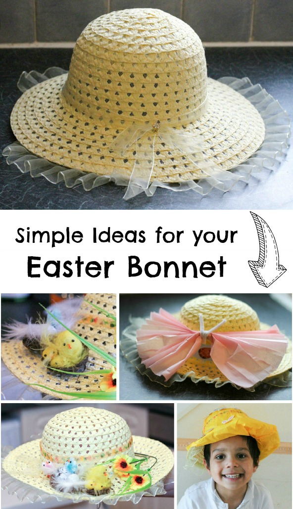 Simple Easter Bonnet Ideas In The Playroom