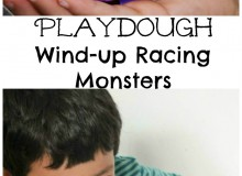 Playdough Wind Up Racing Monsters