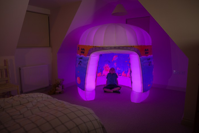 PODS Sub Aqua Bedroom Child Pink