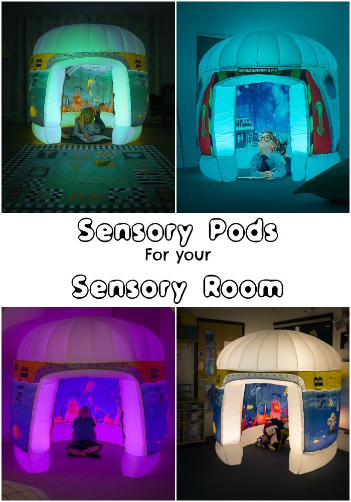 Pods Play Sensory Play Environments