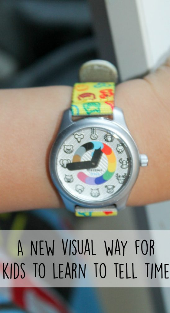 A New Visual Way for Kids to Learn to Tell Time with Madame Irma