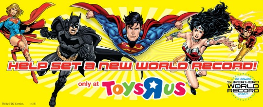 DC Comics Super Hero World Record Attempt Event