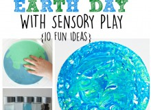 Celebrating Earth Day with Sensory Play