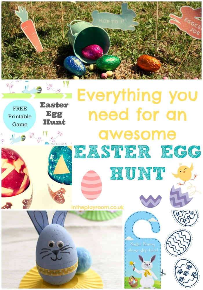 Everything You Need for an Awesome Easter Egg Hunt