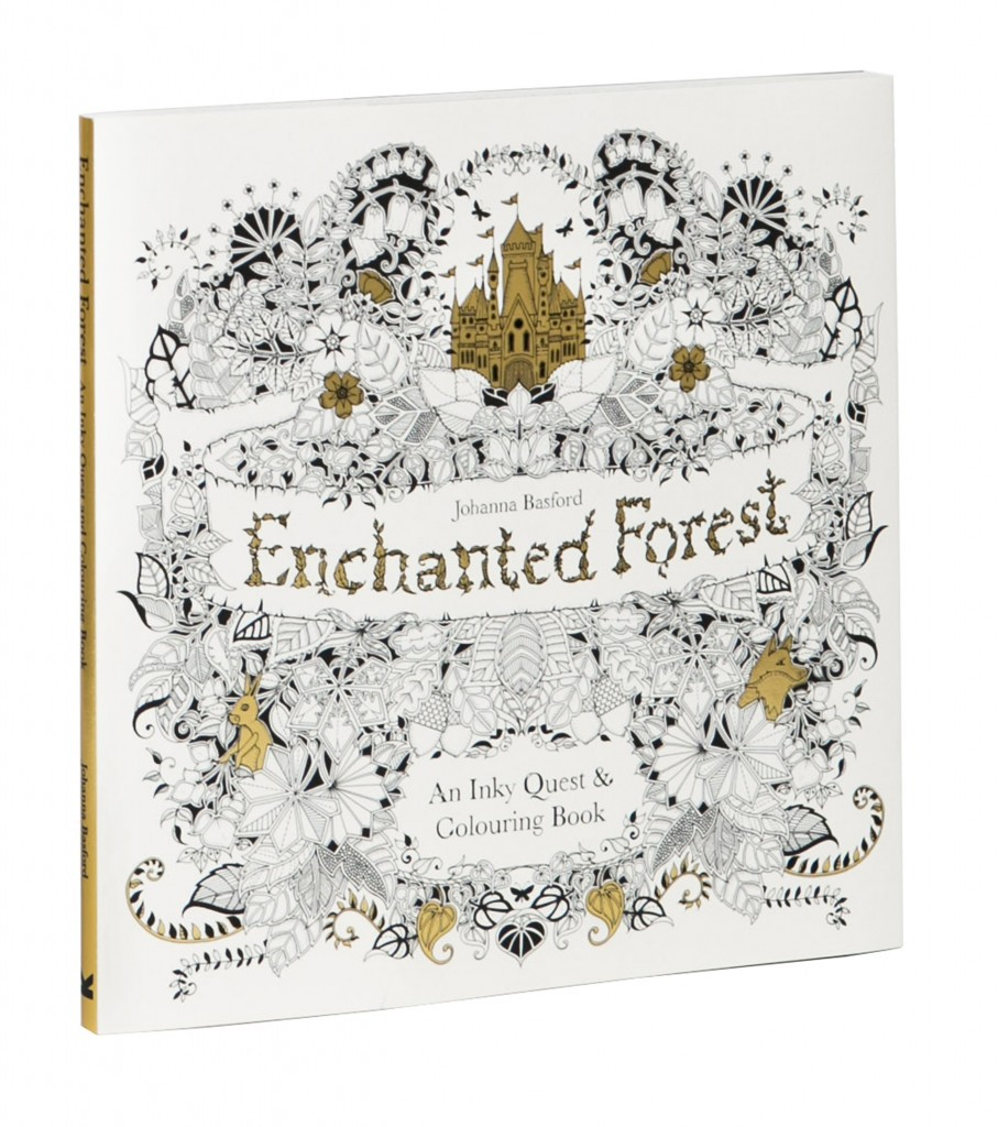 The enchanted forest coloring book uk - Enchanted Forest Colouring Competition At Fabriano Boutique In The Playroom
