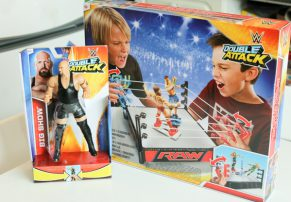 WWE Double Attack Total Control Take Down Play  Set