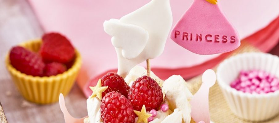 Stork  Its a Girl - Raspberry and White Chocolate