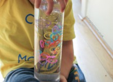 Loom Band Sensory Bottles